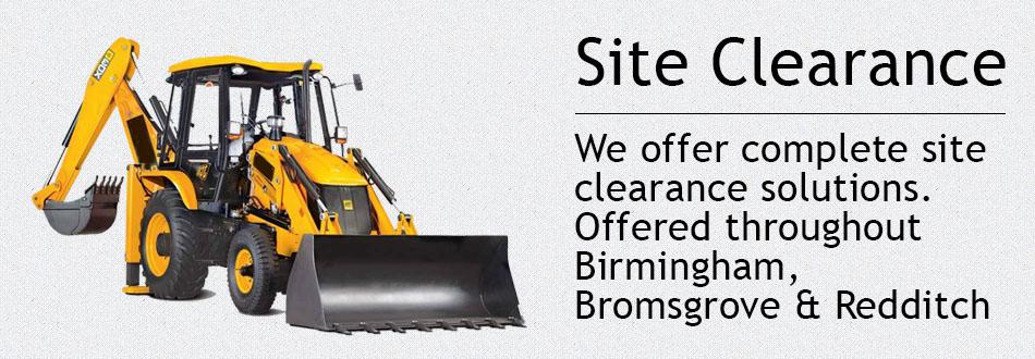 Site clearance Birmingham