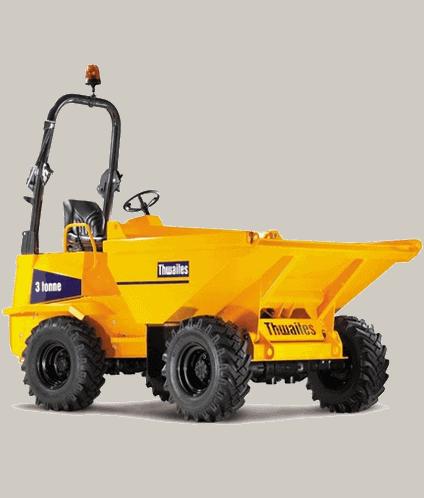 3 ton thwaites dumper hire birmingham