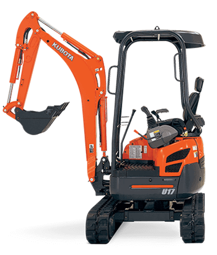 Kubota mini digger hire