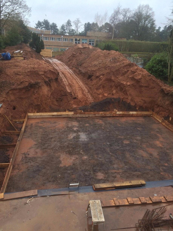 Garden basement construction birmingham retrofit for Basement construction
